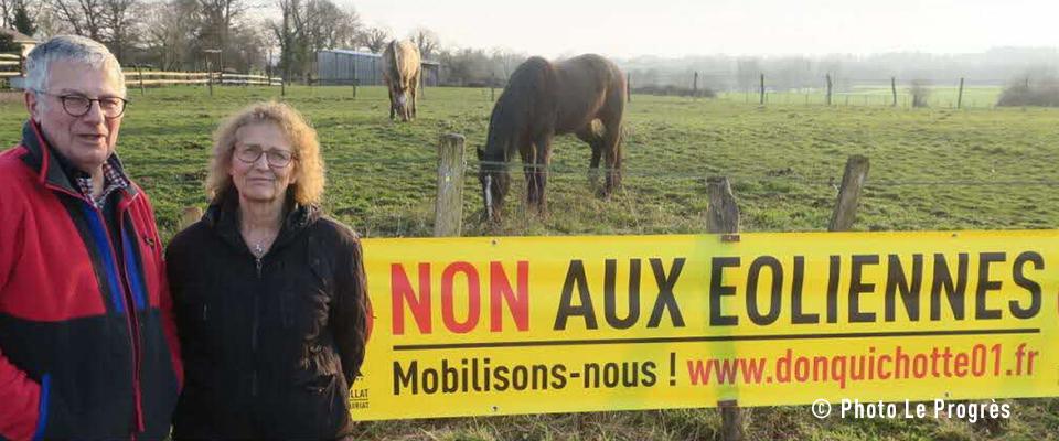 Le Progrès – À Cruzilles-lès-Mépillat, la grogne contre éoliennes ne faiblit pas (24/01/20)
