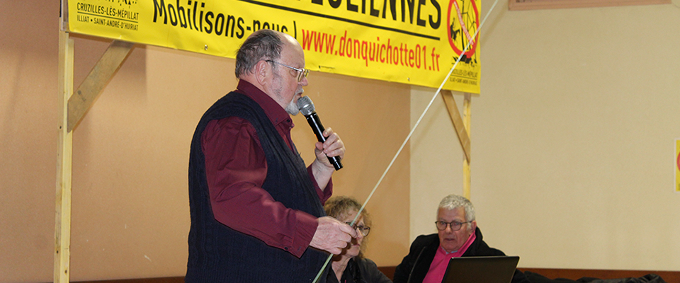 Notre ami Jacques Pieltin répond aux attaques de Christian Lay, maire de Cruzilles