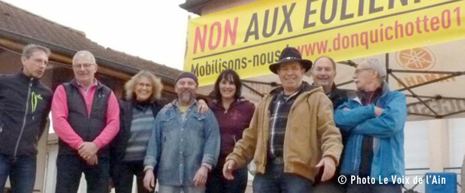 La Voix de l'Ain – Des habitants, vent debout contre… les éoliennes ! (20/12/19)