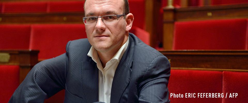 Damien Abad, député de l'Ain et président du groupe LR à l'Assemblée, soutient notre combat contre les éoliennes à Cruzilles