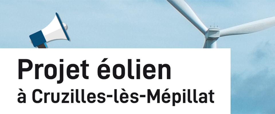La mairie de Cruzilles organise une consultation publique sur le projet éolien